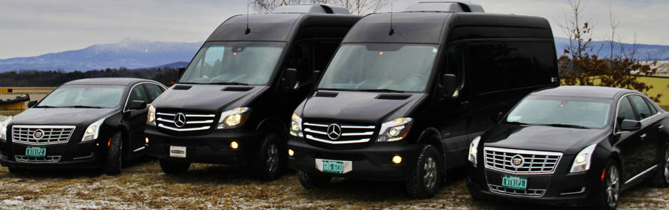 Vermont chauffeured luxury limo services for Weddings, Brewery, Winery Tours, Airports in VT