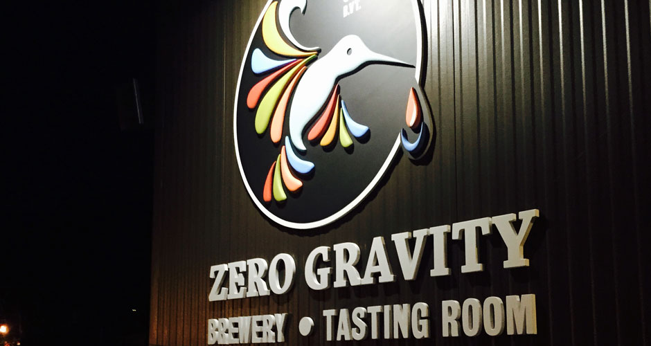 zero gravity chauffeured brewery tour