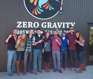 zero gravity vt brewery tour