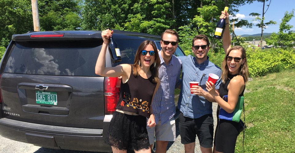 vermont chauffeured wine tours